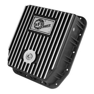 Afe 46 70212 Transmission Pan Cover black Machined 80 93 Ford F150 Aod