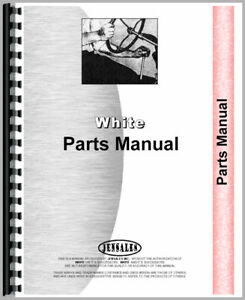 White 2 85 Field Boss Tractor Parts Manual