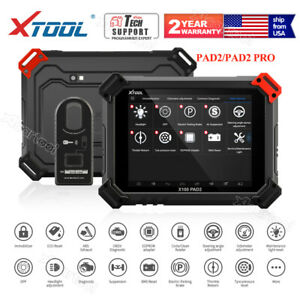 Xtool X100 Pad 2 Pro Auto Key Programmer Odometer With Kc100 For Vw 4th