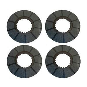 Four 4 Brake Discs For Case Tractors 400rc 730 830 930 1030