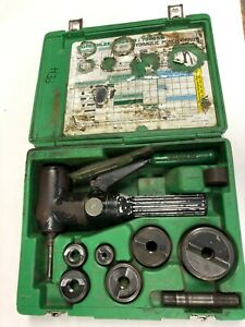 Greenlee 7906sb Quick Draw 90 Hydraulic Punch Driver Kit 1 2 To 2