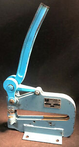 Vintage Roper Whitney Model 17 Sheet Metal Punch Capacity 5 Ton Our 2