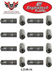 New 16 Enginetech Chevy Sbc 305 5 0 350 5 7 Roller Lifters L2148 16