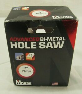 Mk Morse Mhs48 3 Bi metal Hole Saw Open Box