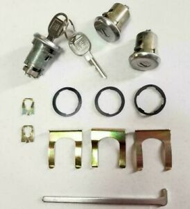 New 1974 1984 Oldsmobile Cutlass Door And Trunk Lock Set With Gm Keys
