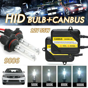 For Honda Civic 2004 2010 9006 Xenon Hid Headlight Low Beam Bulb Ac Ballast Kit