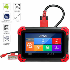 2020 Xtool X100 Pad Obd2 Scanner Immo Key Odometer Correction With Oil Rest