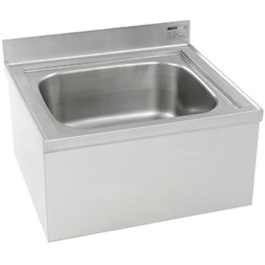 Eagle Group F1916 20 X 16 X 8 Mop Sink Floor Mounted Stainless Steel