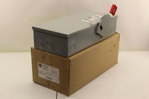 Allen Bradley 1494h ca3h6 Fusible Disconnect Switch New In Box
