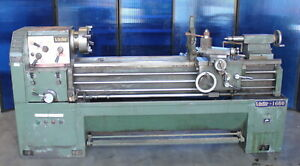 16 23 X 60 Victor 1660 Gap Bed Engine Lathe Taper Attachment Steady Rest