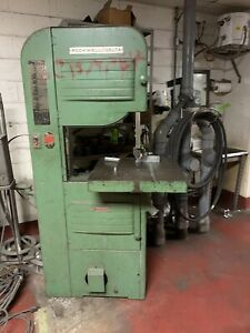 Rockwell Delta Wood Metal Vertical Band Saw 20 Model 96 329 With Welder Bandsaw