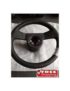 1984 1989 Corvette Leather Reproduction Steering Wheel Classic Auto Parts New