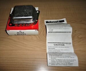 Ford Motorcraft Voltage Regulator W Is Gr 540 b Fopz 10316 a Free Shipping