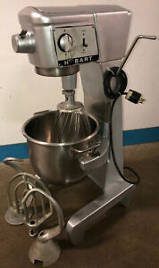 Genuine Hobart D300 30qt Mixer W ss Bowl whisk paddle Dough Hook