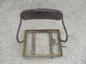 International 300 350 Utility Tractor Ih Deluxe Seat Assembly Frame