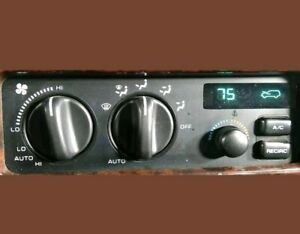 1993 1994 1995 Jeep Grand Cherokee Ac Heater Climate Control 55036400 Electronic