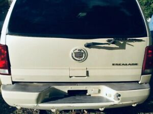 Cadillac Escalade Tail Gate Tailgate Trunk Rear Deck Lid 2002 2003 2004
