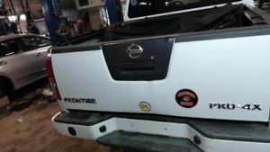2005 2012 Frontier Trunk Hatch Tailgate W O Utility Bed Package 1318844