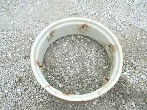 Ford 8n 9n 2n Ferguson 50 35 Tractor 10 X 28 Good Used Rear Loop Rim