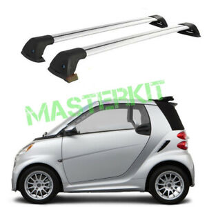 Roof Rack Cross Bars Luggage Carrier For Mercedes benz Smart Top Universal
