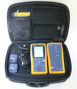 Fluke Networks Dtx 1200 Cable Analyzer With Smart Remote Cat 5 Cat 6