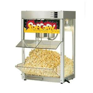 Star 86ss Super Jetstar 8 Oz Self Serve Popcorn Popper