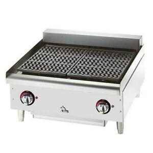 Star Manufacturing 5124cf Max 24 Electric Charbroiler