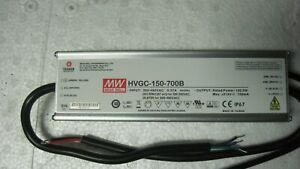 Mean Well Hvgc 150 700b Constant Current 1 10 V Pwm Resistance Led Driver 150 5