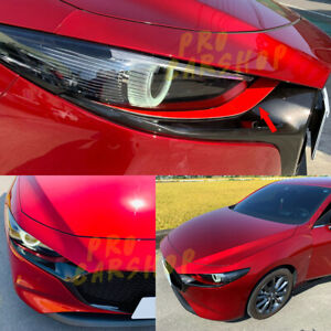 Choose Your Color 2019 For Mazda 3 4th Bp Painted Front Headlight Eyelids Cover
