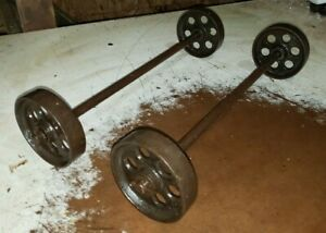 Maytag Small Engine Truck Cart 5 Wheels Axle Hit Miss Engine