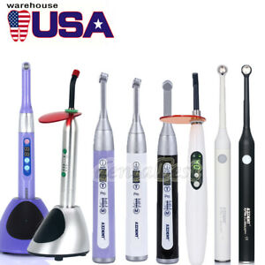 Woodpecker Style Dental Cordless Led Curing Light Lamp Wireless 1 Second Curing