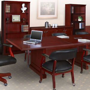 8ft 24ft Traditional Conference Room Table Boardroom Table Conference Table