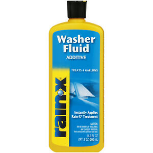 Rain X Washer Fluid Additive Treats 4 Gallons Instantly Applies Glass Treatment