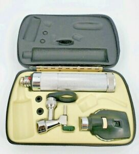 Welch Allyn Veterinary Operating Otoscope Ophthalmoscope Diagnostic Set Euc