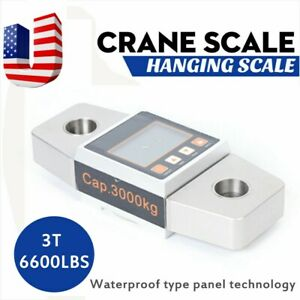 3t Crane Scale High Precision Weighing Scale Digital Hanging Scale 3000kg Usa
