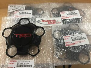 2014 2019 Tundra Trd Pro Center Cap 4 Pc Set Pt280 34150 For 18 Off Road Wheel