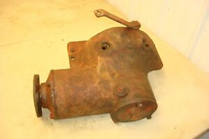 Farmall M Tractor Belt Pulley Drive Assembly