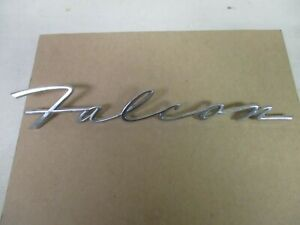 1960s Ford Falcon Name Plate Emblem