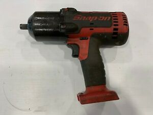 Snap On 1 2 Drive Cordless Impact Wrench 18 Volt Lithium Tool Only Ct8850