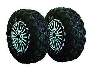 Anti Slip Security Natural Rubber Snow Tire Chain Cars Suv Trucks Fits 225 60r15