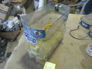 Used Hopper Mixing Auger Dirty For Ultra Bunn o matic Frozen Drink Machine A