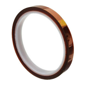 8mm X 100ft 3d Sublimation Heat Resistance Proof Tape Heat Transfer Kapton Tape