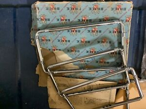 Nos Buick Classic Car 1920 S 1930 S Chrome Deco License Plate Frame Adjustable