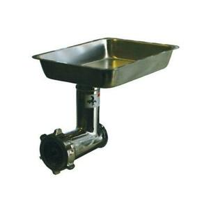 Alfa 12 Ss Cca Complete 12 Stainless Steel Meat Grinder Attachment