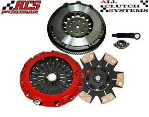 Acs Pro racing Stage 3 Clutch Kit chromoly Flywheel 2003 2008 Tiburon 2 7l Se Gt