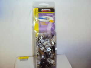 Platinum Tools Rj45 Cat6a 10gig Shielded Connector With Liner 50 pack 106192