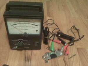 Vintage 1970 S Sears Engine Analyzer Tune Up Tester