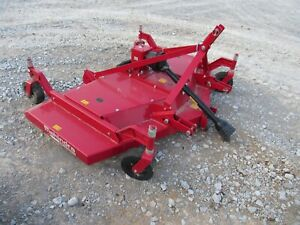 Mahindra Tractor 6 Finish Finishing Mower Pto 3 Point Hitch Attachment