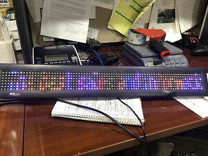 Adaptive Micro Systems Beta brite Prism Programmable Color Led Display