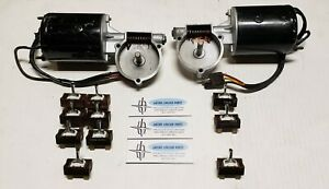 1965 Lincoln Continental 2 Power Window Motors 10 Switches Rebuilt A